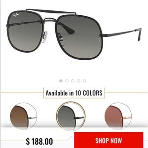 Ray ban blaze black gradient sunglasses